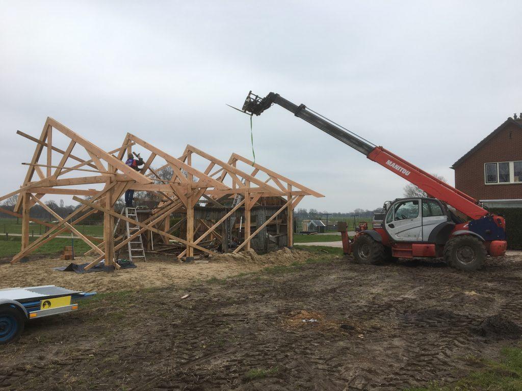 Opbouw van de spanten